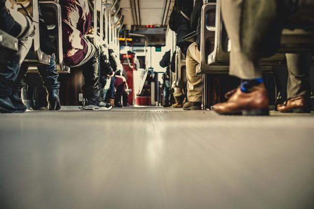 Foule métro