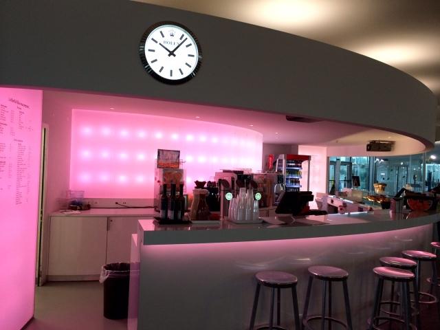 Cafétéria Rolex Learning Center