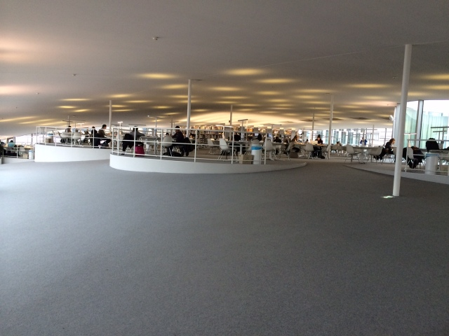 Vue intérieure Rolex Learning Center