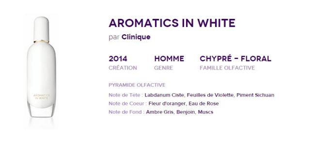 Aromatics white
