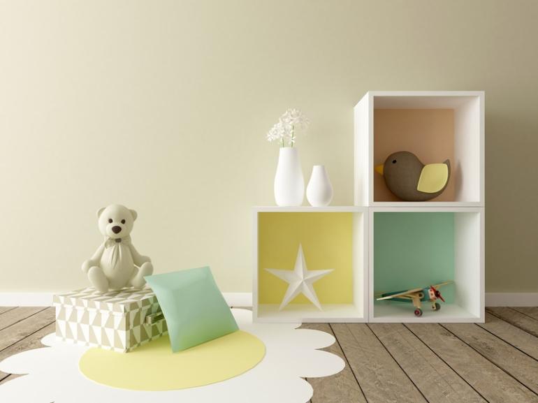 playroom interior, nursery