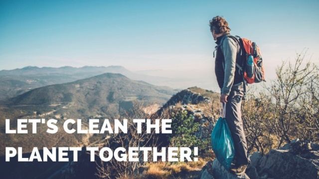 Let's clean the planet together